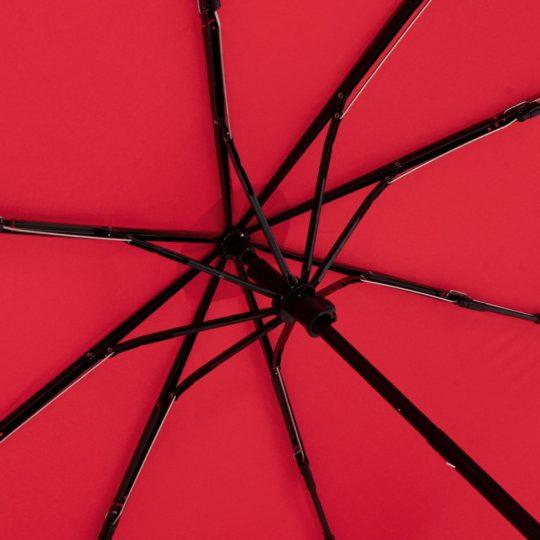 Зонт складной OkoBrella, красный