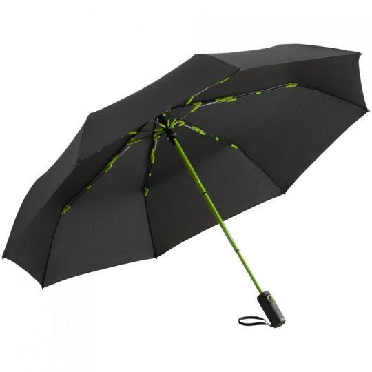 Зонт складной AOC Colorline, зеленое яблоко
