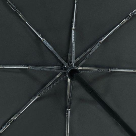 Зонт складной Stormmaster, черный