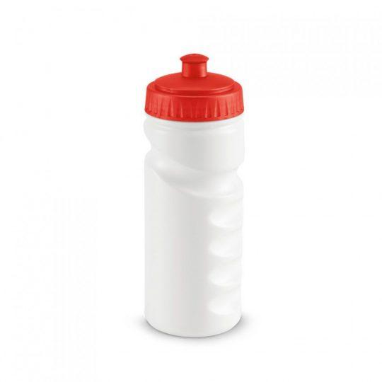 Бутылка для велосипеда Lowry, белая с красным