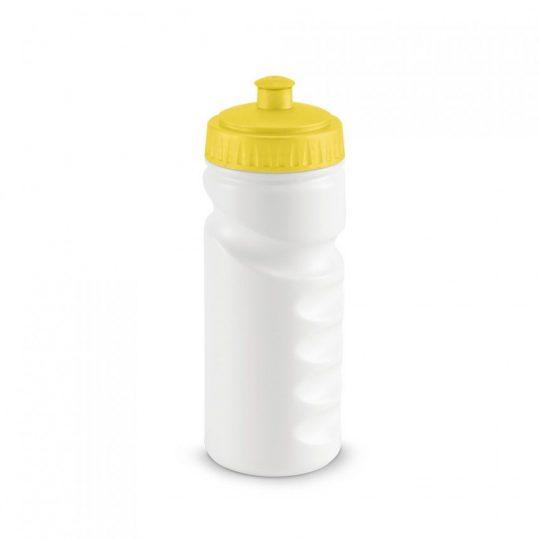 Бутылка для велосипеда Lowry, белая с желтым