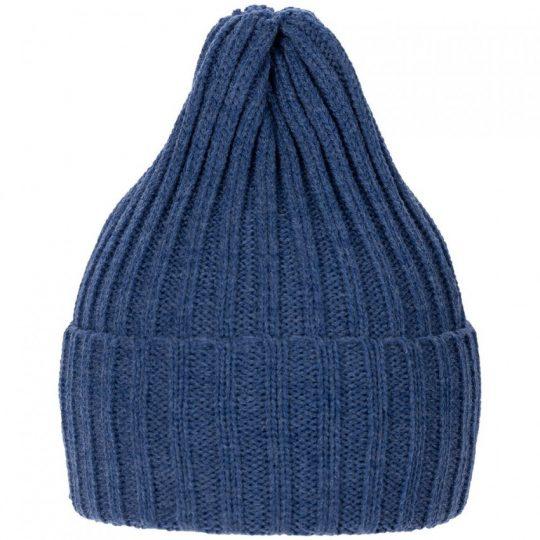 Шапка Norfold, синий меланж (джинс)