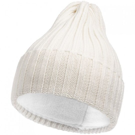 Шапка Norfold, молочно-белая