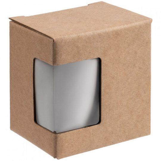 Коробка с окном Lilly, крафт