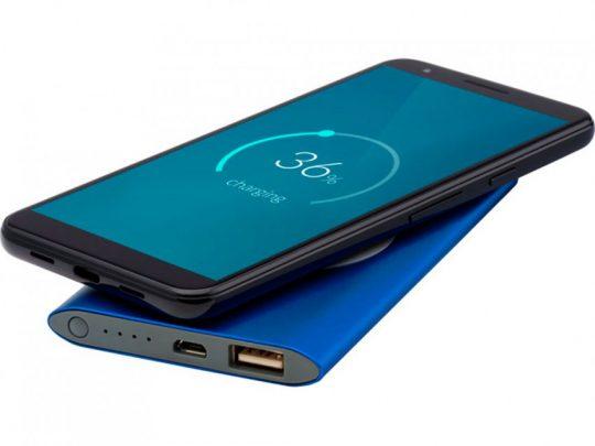 Беспроводное портативное зарядное устройство емкостью 4000 мАч Juice, синий, арт. 023845203
