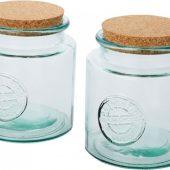 Набор емкостей Aire из переработанного стекла объемом 1500 мл (2 предмета), арт. 023868303