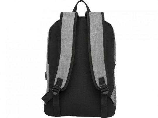 Бизнес-рюкзак для ноутбука 15,6 Hoss, heather medium grey, арт. 023842803