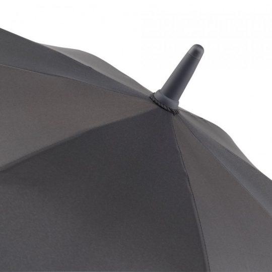 Зонт-трость с цветными спицами Color Style, серый