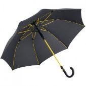 Зонт-трость с цветными спицами Color Style, желтый