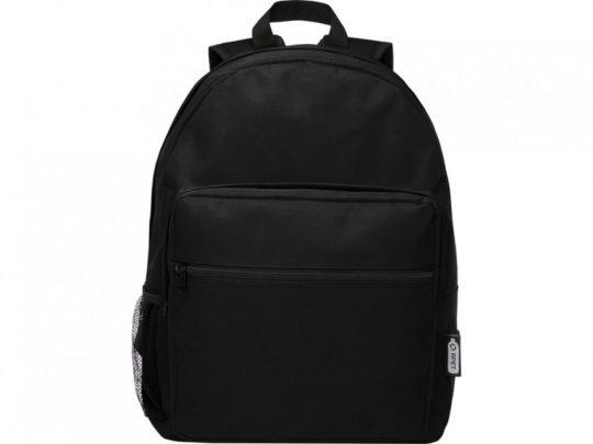 Рюкзак из вторичного ПЭТ Retrend, черный, арт. 023844703