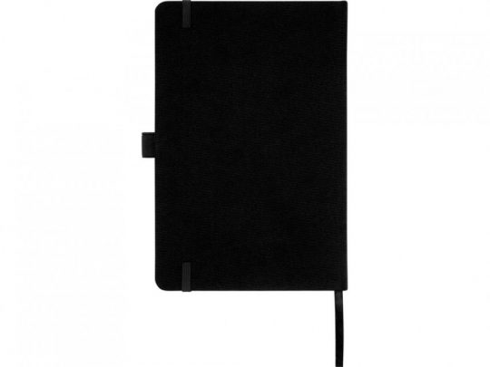 Блокнот Honua форматом A5 из переработанной бумаги с обложкой из переработанного ПЭТ, черный, арт. 023847703