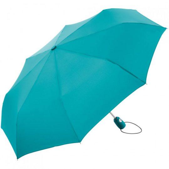 Зонт складной AOC, бирюзовый