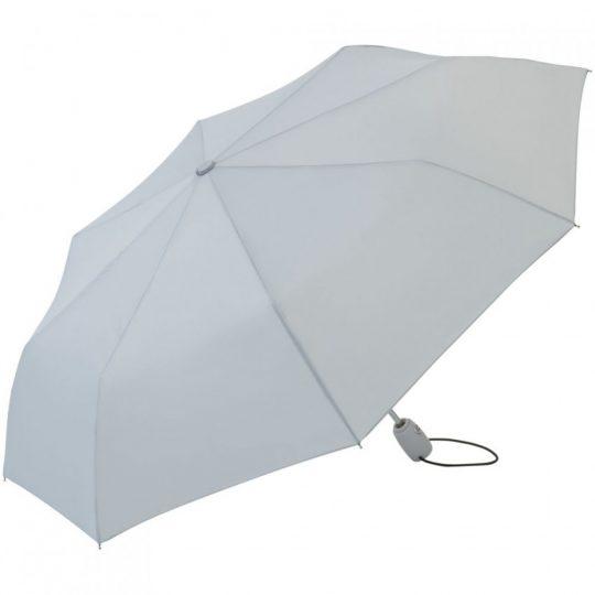 Зонт складной AOC, светло-серый