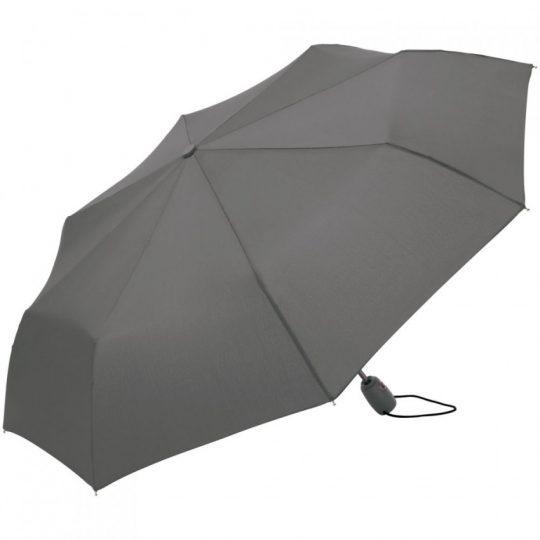 Зонт складной AOC, серый