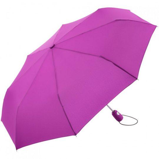 Зонт складной AOC, ярко-розовый