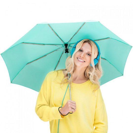 Зонт складной AOC, зеленый (мятный)