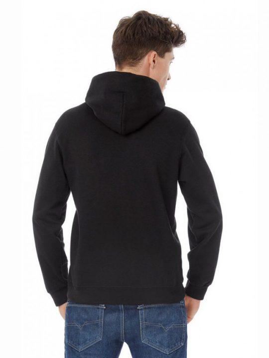 Худи «Морской черт», черное, размер XXL