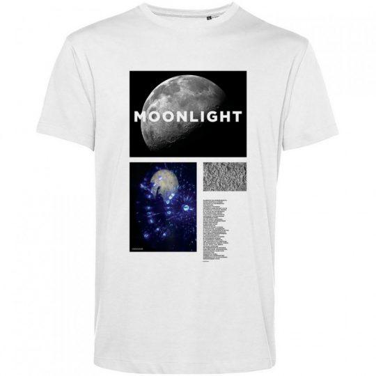 Футболка Moonlight, белая, размер S
