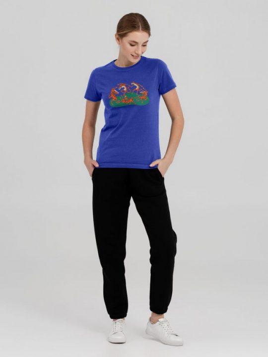 Футболка Tigerdance, ярко-синяя, размер L