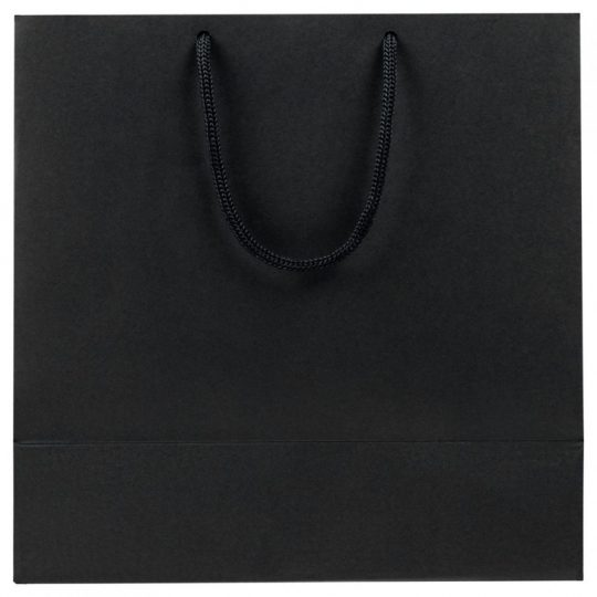 Пакет «Сказочный узор», черный