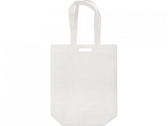 Сумка для покупок из спанбонда Scope, 380*455*160 с ручкой 550/30 мм, белый, арт. 023812203