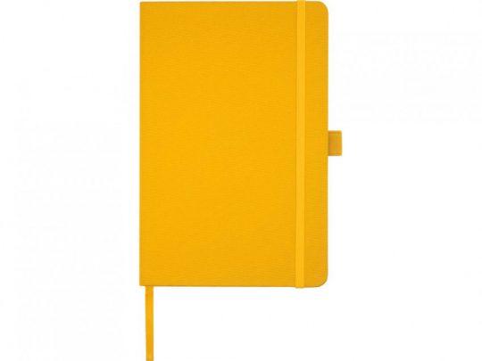 Блокнот Honua форматом A5 из переработанной бумаги с обложкой из переработанного ПЭТ, оранжевый, арт. 023847403
