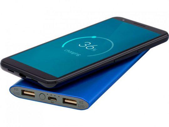 Беспроводное портативное зарядное устройство емкостью 8000 мАч Juice, синий, арт. 023845603