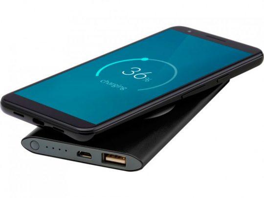 Беспроводное портативное зарядное устройство емкостью 4000 мАч Juice, черный, арт. 023845403
