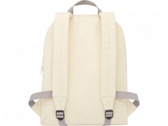 Рюкзак из переработанного хлопка и полиэстера плотностью 210 г/м² Pheebs, натуральный, арт. 023844103