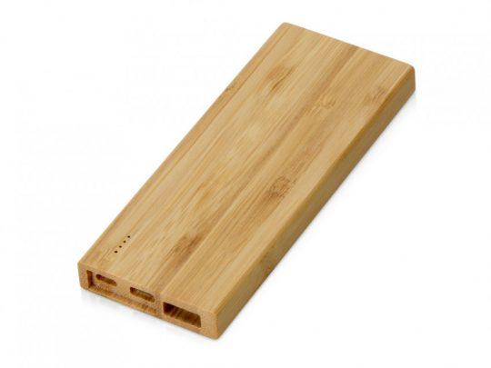 Внешний аккумулятор из бамбука Bamboo, 5000 mAh, арт. 023810503