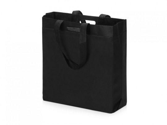 Сумка для покупок из спанбонда Scope, 380*455*160 с ручкой 550/30 мм, черный, арт. 023812303