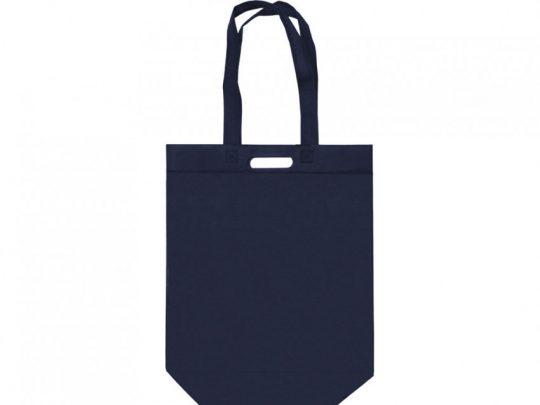 Сумка для покупок из спанбонда Scope, 380*455*160 с ручкой 550/30 мм, синий, арт. 023812403