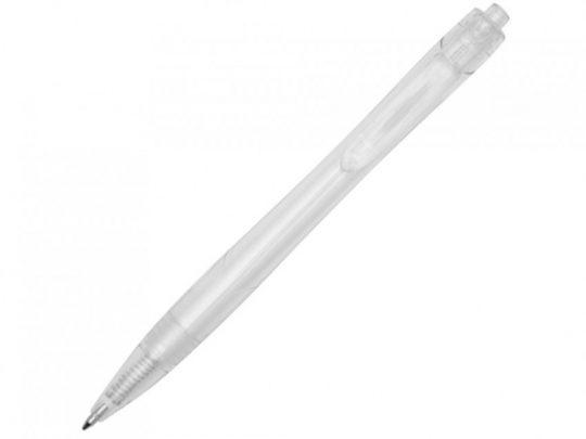 Шариковая ручка Honua из переработанного ПЭТ, прозрачный/белый, арт. 023846803