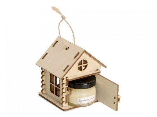 Подарочный набор Крем-мед в домике, крем-мед с ванилью 35 г, арт. 023813503