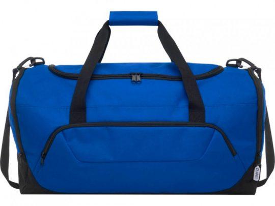 Спортивная сумка Retrend из вторичного ПЭТ, ярко-синий, арт. 023848203